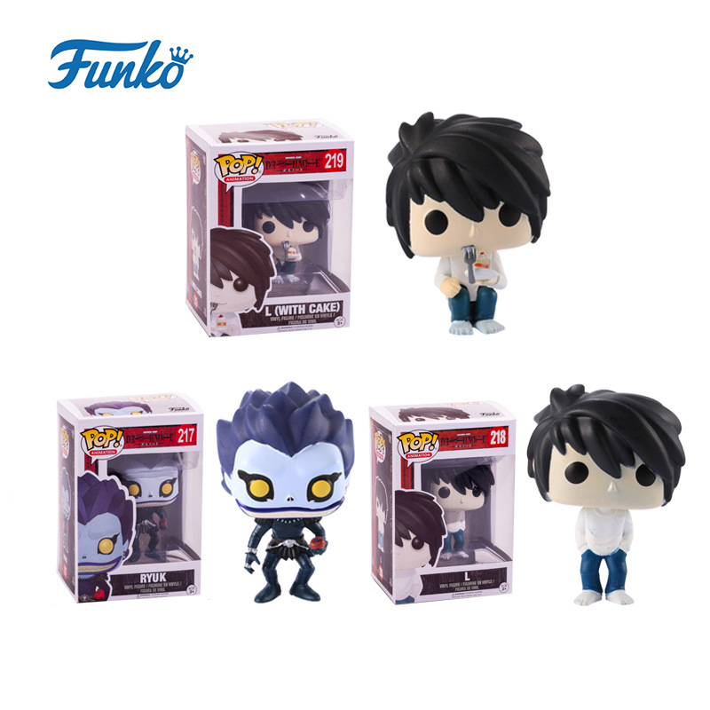Funko POP Death Note RYUK Lawliet Action Figure Collection Anime Toys For Movie Fans Birthday Christmas Present