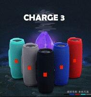 20W Outdoor Bluetooth Speaker Subwoofer E3 Speaker IPX7 Waterproof Charge3 Portable Music Player Active soundbar caixa de som