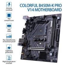 Bunte B450M-K PRO V14 Motherboard Dual Kanal DDR4 2400/213HZ SATA 6 Gb/S für AMD AM4 Buchse 3000 serie Prozessoren