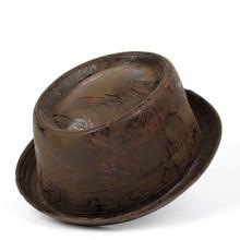 Hat Fedora-Hat Pork Pie Flat Bowler Men for Gentleman Dad Jazz Big 4size/S/M/..