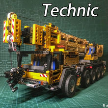 20004 Technic Series Mobile Crane MK II Building Blocks Electric Motors Power Functions Model Toys Gift Technic 42009(China)