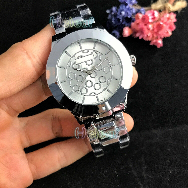 Women Watches Luxury Fashion Silver Gold Round Dial Stainless Steel Band Quartz Watch Female Clock Montre Femme Relogio Feminino