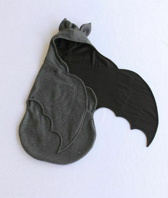 Newborn Infant  Baby Cotton Swaddle Blanket Wrap Cartoon Bat Sleeping Bag 0-6M