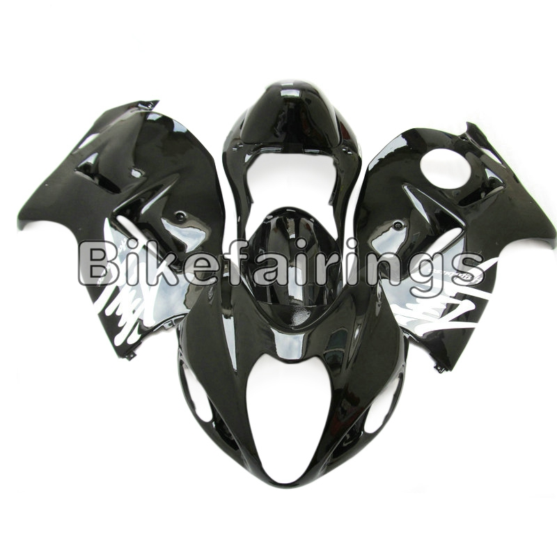 Sportbike Argent Noir En Plastique Cadre de Corps Pour Suzuki GSXR1300 1997 98 99 00 01 02 03 04 2005 2006 2007 GSXR 1300 Hayabusa Couvre