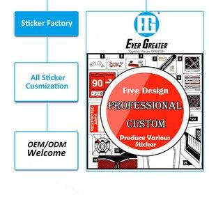 Image 3 - 19CM*17CM USA Bald Eagle Flag Car Sticker and Decal PVC