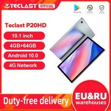 TECLAST – Tablette Android 10 de 10,1 pouces, P20 HD vitesse PC, double WiFi, résolution de 1920x1200 px, SC9863A Octa Core 4 GO de RAM et 64 GO ROM, réseau 4G AI