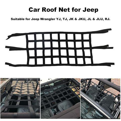 cobertura superior exterior da rede do armazenamento da rede do telhado macio resistente do para