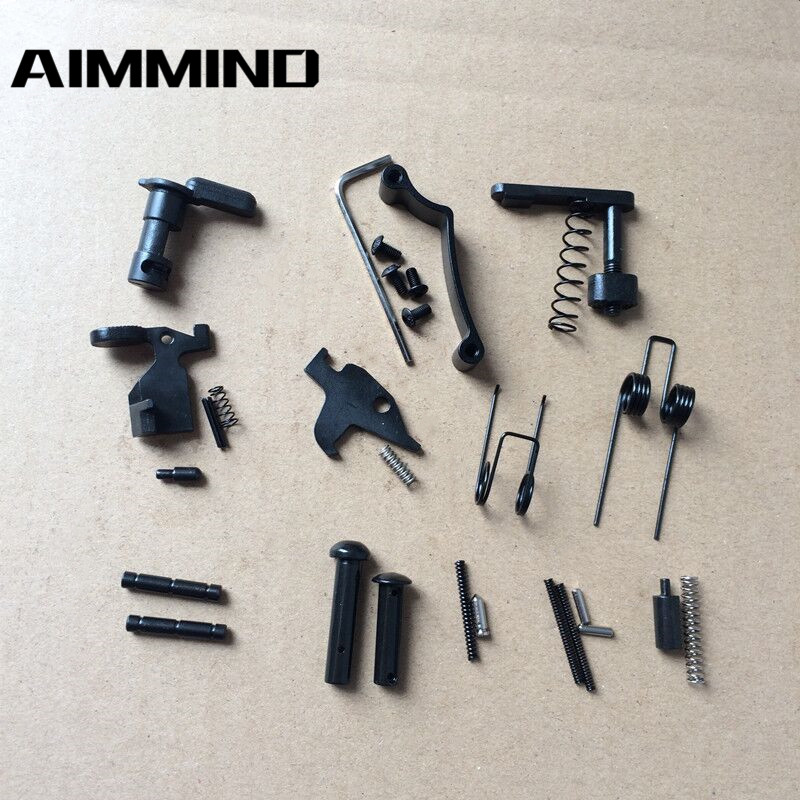Enhanced AR15 Lower Parts Kit 223 / 5.56 Spring Kit Replacemen With Safety Selecter Magazine Catch NEW