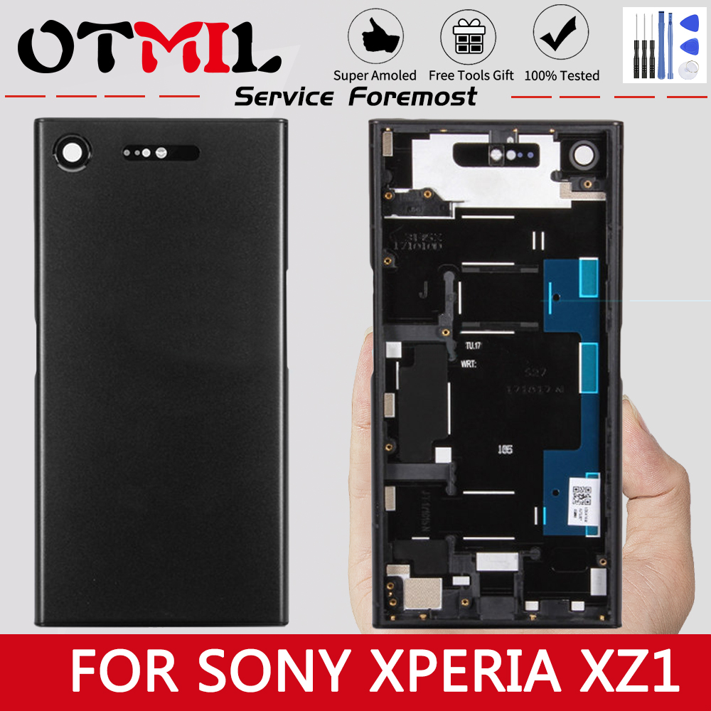 """5.2"""" Original For SONY Xperia XZ1 LCD Touch Screen with Frame Digitizer For SONY XPERIA XZ1 Display XZ1 G8341 G8342 LCD Replace(China)"""