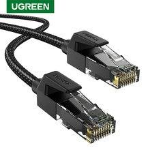Câble Ethernet UGREEN CAT6 Nylon Durable tressé RJ45 câble Ethernet pour PS 4 ordinateurs portables routeur Gatos chats 6 RJ 45 Lan câble RJ45