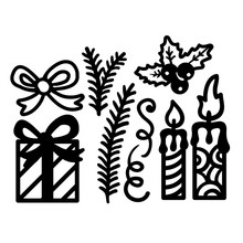 GJCrafts Christmas Dies Gift Box Metal Cutting New 2019 for Card Making Scrapbooking Embossing Cuts Stencil Craft