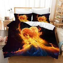 Punk Skull Bedding Set Luxury Bed Linen Poplin Couple Bed Sheet Duvet Cover Sets Euro Kids Comforters Twin Quilt Overtrek Linen стоимость