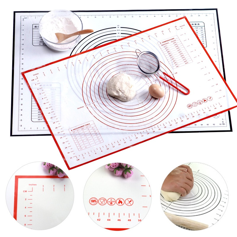 Baking-Mat Holder Dough-Pad Scale Pastry Non-Stick-Maker Kitchen-Gadgets Multi-Size Silicone