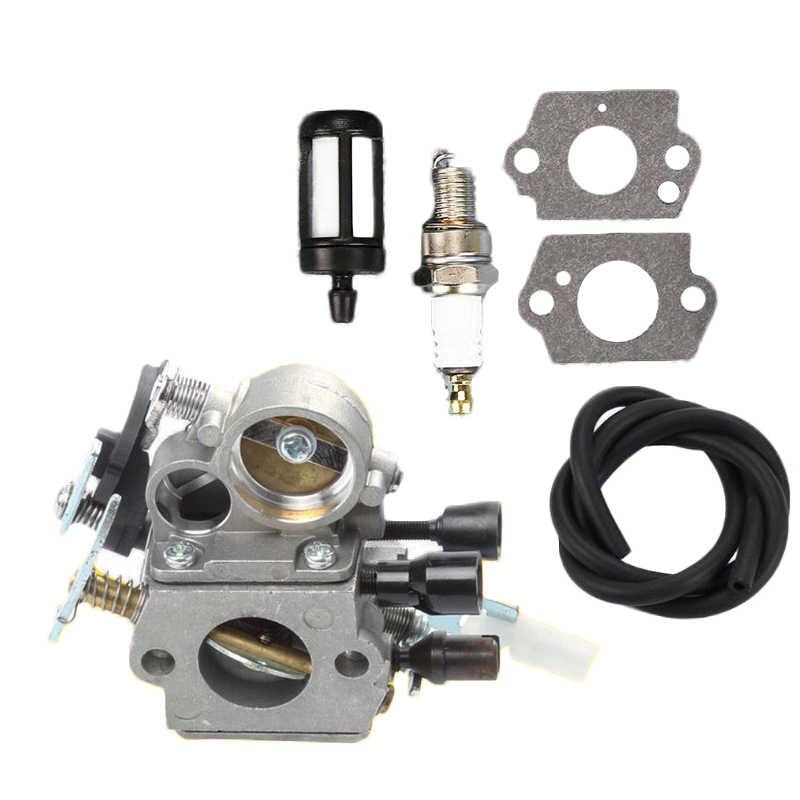 Carburateur Brandstof Filter Lijn Kit Voor Stihl MS171 MS181 MS201 MS211 1139 1207 100