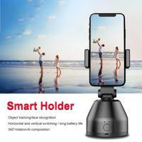 Soporte de teléfono móvil para fotografía, maquillaje, Vlog, YouTube, Robot cardán de Ia inteligente, 360 °, rotación automática, seguimiento facial