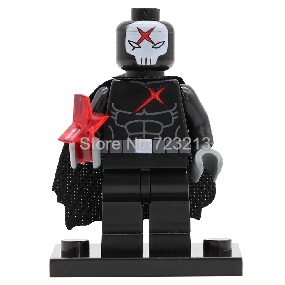 Single Sale PG1123 Movie Red X Man Figure Building Blocks Set Model Kits Bricks Toy For Children Legoing