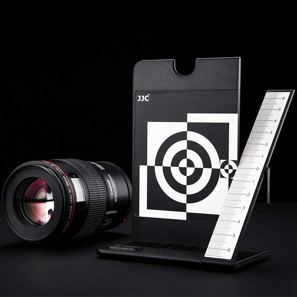 cheapest JJC Camera Lens Autofocus Auto Focus Calibration Tool Chart via Select DSLR Camera Has AF Fine Tune AF Micro Adjustment Function