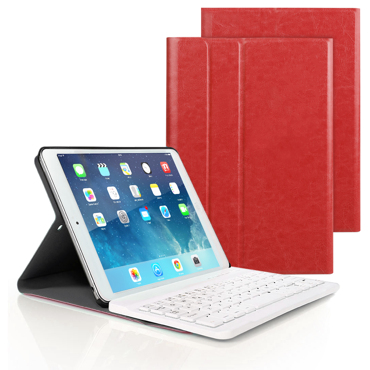Smart Keyboard Case For iPad Air 1/2 Pro9.7 ipad 2017 2018 PU Leather Stand Cover Foldable Case for ipad 5 6