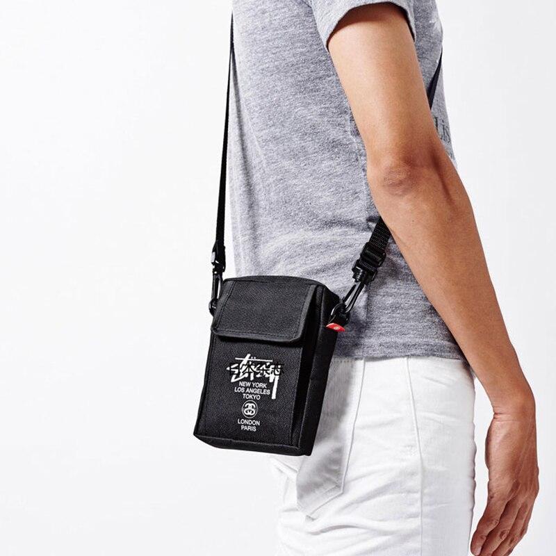 WULI SEVEN Men's Bag Light Men Shoulder Bag Fashion Man Shoulder Bags Black Polyester Messenger Bag High Quality Crossbody Bags