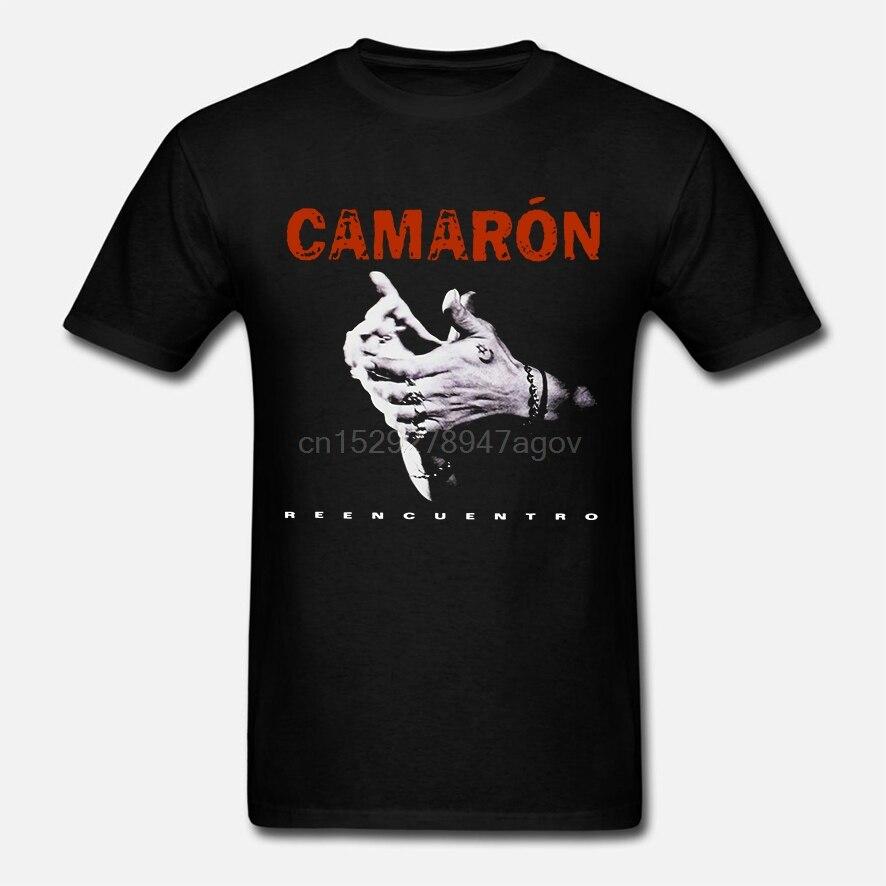 Men T Shirt CAMARON DE LA ISLA REUNION FLACO Funny T-shirt Novelty Tshirt Women