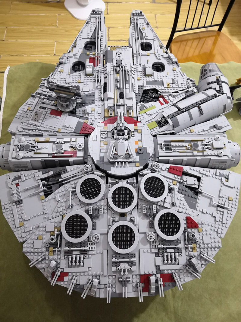 DHL 05132 Star Series Wars The 75192 Ultimate Collector's Model Star Destroyer Building Blocks Bricks Kids Toys Christmas Gifts