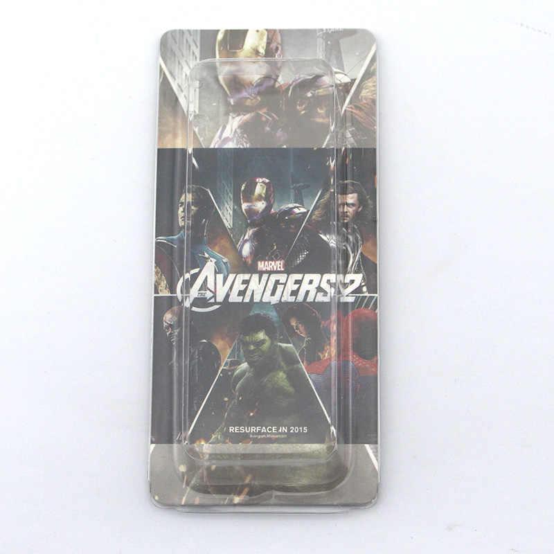 17 estilo DC Comics Super héroe los Vengadores Iron Man Palma mano llavero de Metal de alta calidad llavero colgante anillo de llave