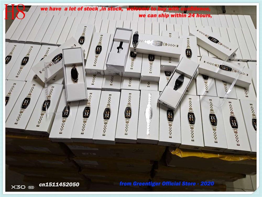 Hcdc4e7abe7cf449cac1e0cb0939f4459l Greentiger H8 Smart Bracelet Women Activity Fitness Tracker Heart Rate Monitor Blood Pressure IP67 Waterproof Smart Wristband