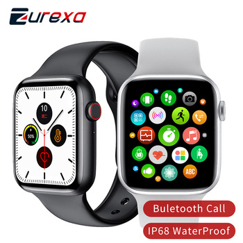 Zurexa IWO 8 LITE Smart Watch Men Women IP68 Sport W26 Smartwatch Waterproof Pedometer Blood Oxygen Smart Watch For Android IOS