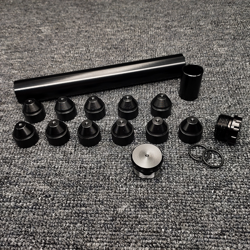 Алюминиевый топливный фильтр для автомобиля, 8 дюймов, 1/2-28, 5/8-24 дюйма, для NAPA 4003 WIX 24003, топливная ловушка, сольвентный фильтр, модификатор авт...