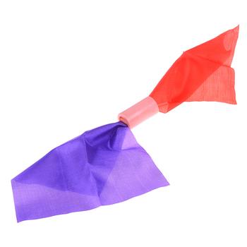 1 szt Podwójny kolor zmieniający chusteczkę jedwabną magiczną sztuczkę zmień 2 wielki magiczny kameleon jedwabny znikający magiczna zabawka i Prop tanie i dobre opinie MYPANDA COTTON CN (pochodzenie) 7-12y 12 + y 4-6y Unisex Jeden rozmiar Double Color Changing Hanky Silk Beginner Nauka Profesjonalne