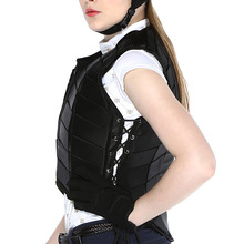 Unisex Adult Eventer Equestrian Equipment Sports EVA Padded Damping Vest Outdoor Safety Body Protective Horse Riding Vest