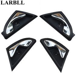 LARBLL Chrome Front Rear Left Right Inner inside Interior Door Handle Plaiting Fit for JAC J3 J3S Turin 2009~2015 6105230U8010