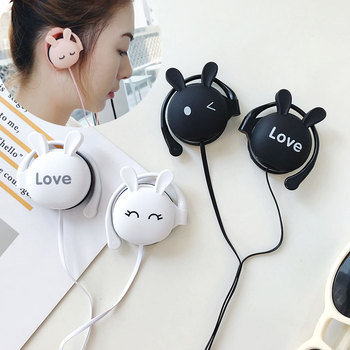 Cute 3.5mm In-Ear Headphones For Xiaomi Earphones Tws Headset For Kids Girls For Oppo Honor Earbuds Gaming Headphones TXTB1 image