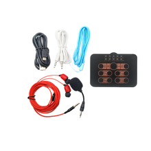 AAY-Phone Mini Voice Changer 8 Multi Mode Change with Microphone for Living/Karaoke/Kids/iP