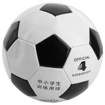 Rozmiar 4 piłka nożna czarny biały piłka nożna piłka do piłki nożnej z PVC bramka drużyna mecz piłki treningowe dorosły uczeń dzieci drużyna mecz piłka tanie i dobre opinie CN (pochodzenie) Other