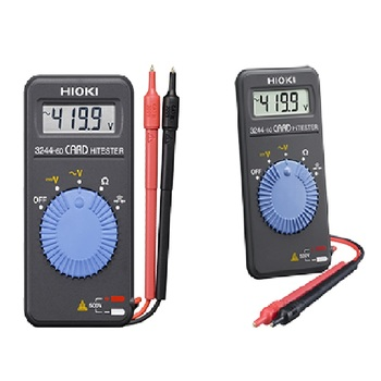 HIOKI 3244-60 Card-style Pocket Digital Multimeter for General Electrical Maintenance and Testing