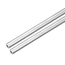 Uxcell 2 шт 6063 бесшовные алюминиевые круглые прямые трубки длиной 300 мм 8 мм OD 3 мм ID
