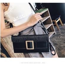 2020 new ladies bag personality fashion wild temperament clutch bag PU leather shoulder Messenger bag red wedding pu leather fashion new african shoes and bag set for party italian shoes with matching bag new design ladies bag