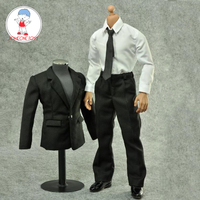 ZYTOYS 1/6 Black Western Suit for 12 Inches Action Figures (no Shoes)