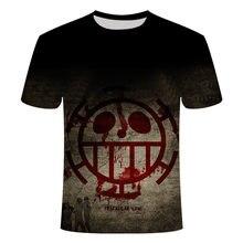 Camiseta informal para hombre y mujer, camisa de una pieza 3DT, con estampado 3D de animacin de hip-hop, para