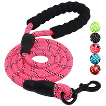Dog Collars & Leads Training Walk Pet Lead Rope Strong Soft Nylon For Small Cat Chihuahua Puppy Walking  Leash