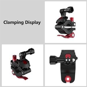 Image 3 - אוניברסלי אופניים מהדק מתכוונן כביש אופני תמיכה עבור GoPro עבור אוסמו פעולה עבור DJI אוסמו כיס ספורט מצלמה אבזרים