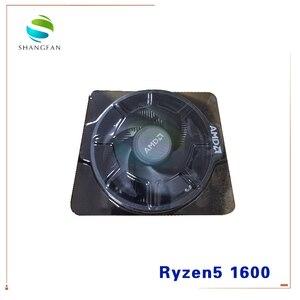 Image 5 - AMD Ryzen 5 1600 R5 1600 3.2 GHz 6 Core 12 Thread 65W CPU โปรเซสเซอร์ YD1600BBM6IAE ซ็อกเก็ต AM4 Cooler Cooling พัดลม