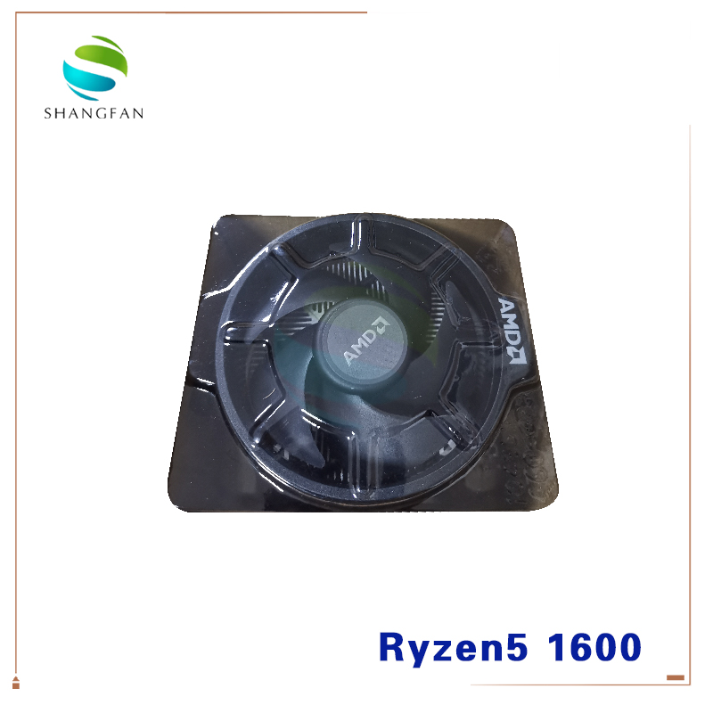 Image 5 - New AMD Ryzen 5 1600 R5 1600 3.2 GHz Six Core Twelve Thread 65W CPU Processor YD1600BBM6IAE Socket AM4 with cooler cooling fan-in CPUs from Computer & Office