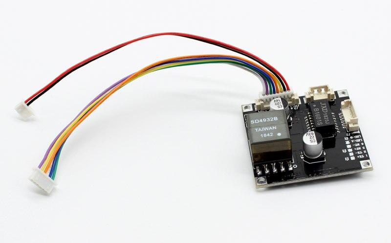 Módulo board para Câmeras de Segurança CCTV Rede IP POE Power Over Ethernet 12V saída IEEE802.3af/at compatível