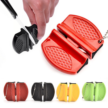 Camping Equipment Pocket Knife Sharpener Tool Ceramic Rod Tungsten Steel Outdoor Accessories Damascus Knives Kitchen Knives 2