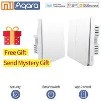 Xiaomi Aqara Wall Switch Smart ZigBee Neutral wire Fire Wire Light Remote Control Wireless Key Wall Switch Mi Home