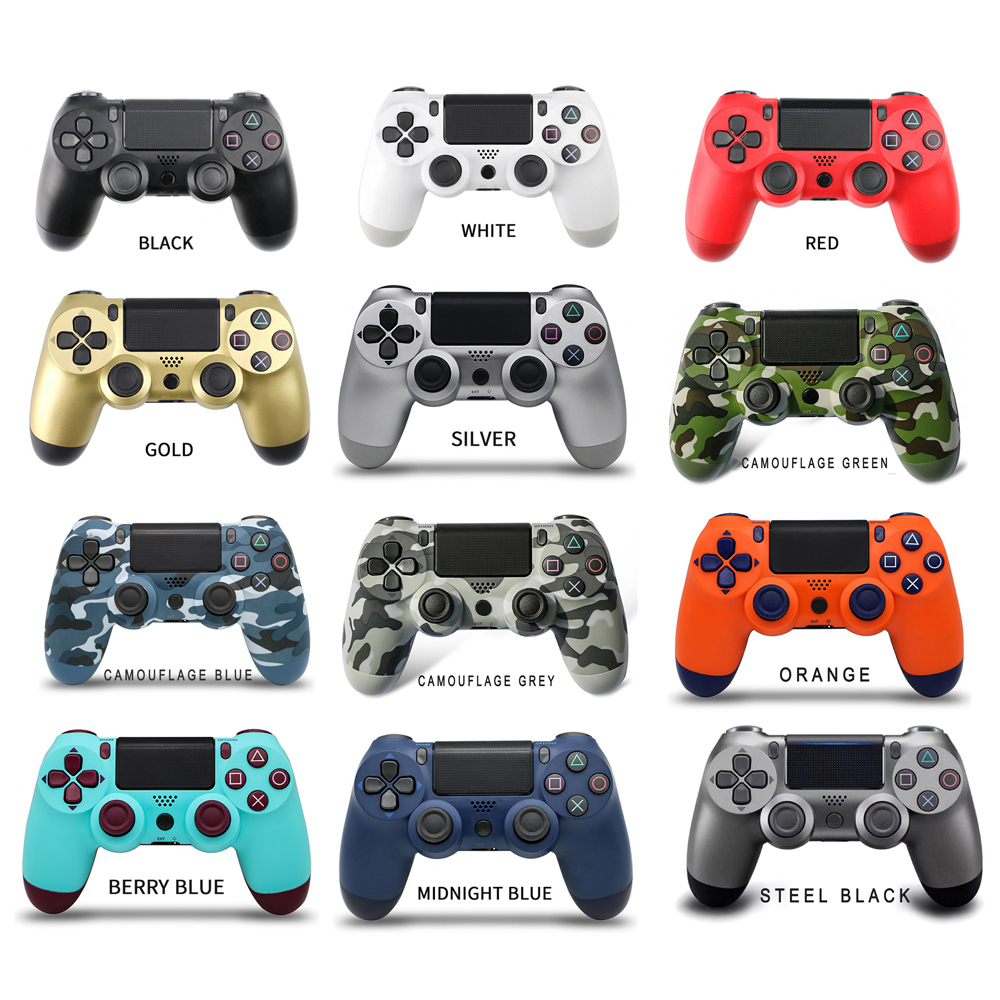 Bluetooth Wireless Gamepad Joystick for Playstation PS4 Controller Fit Console For Dualshock 4 Gamepad Android PC For Sony PS3(China)