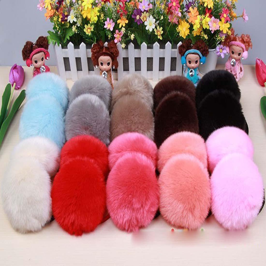 Fashion Warm Cute Plush Fuzzy Faux Ears Earmuffs Thick Student Ear Muffs Solid Girls Headband Ears Soft Winter Accessories