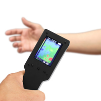 Portable Handheld 2.4 Inch Infrared Thermal Thermometer Measurement Instrument Imager Thermal Imaging Camera Digital LCD Display